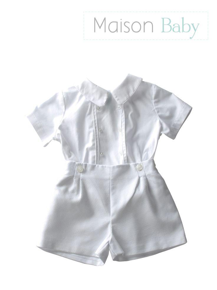Pimpão branco para batizado - Maison Baby