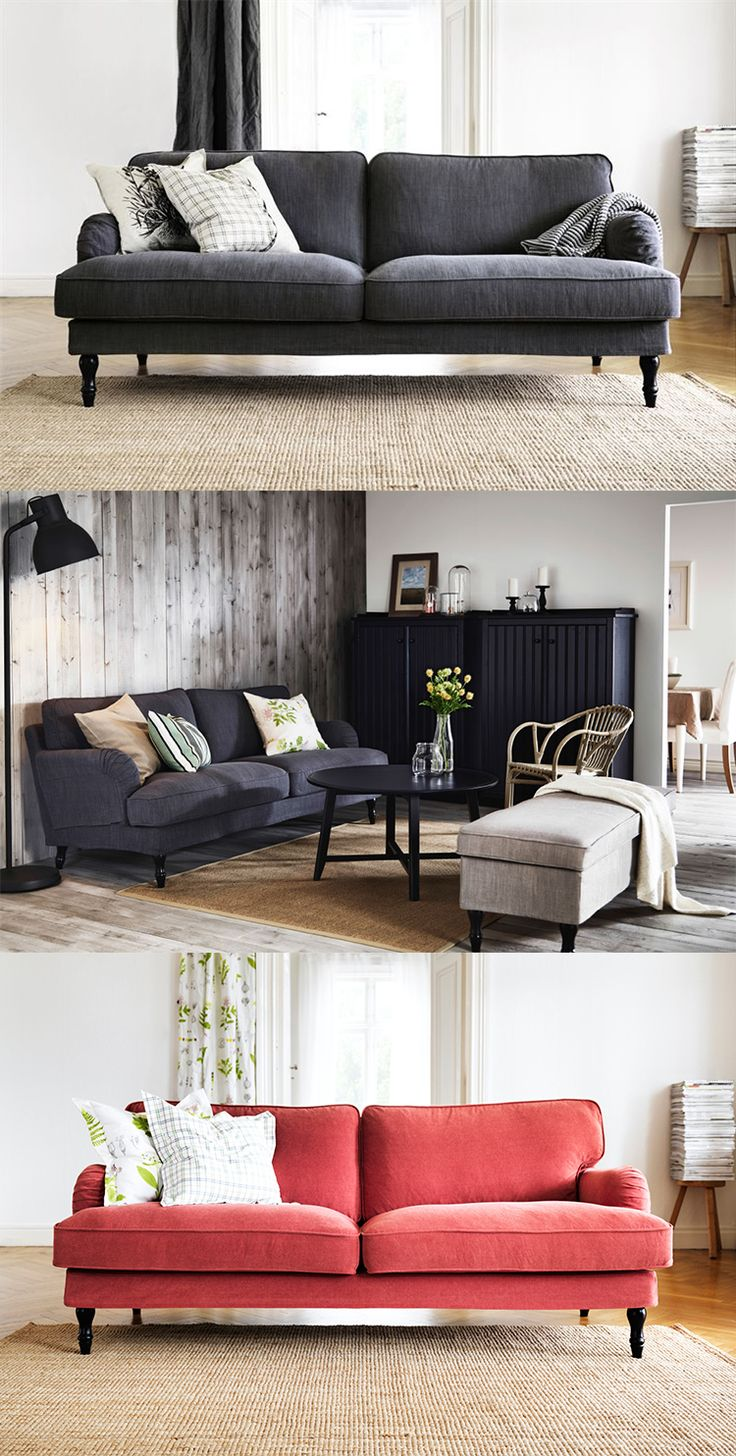 new sofa from ikea stocksund will arrive at stores in oktober 2014 decorating and dreaming. Black Bedroom Furniture Sets. Home Design Ideas