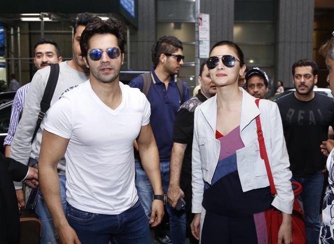 Photos: Salman, Katrina and other celebs reach NYC for IIFA Awards - Entertainment  #bollywoodactors #middaybollywood #bollywoodmovies #bollywoodcelebs #bollywoodfashion #bollywoodinstant #aalia #varun #iifa17 #bollywoodyounggeneration