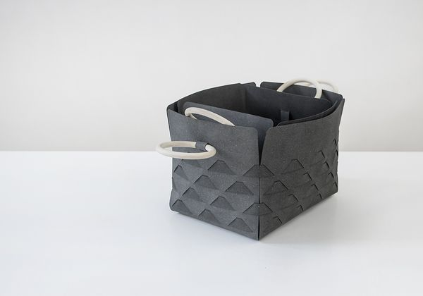 The Asphalt boxes are a stylish and practical storage solution for your home.