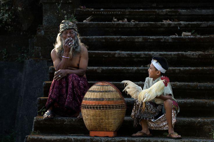 Me and Grandpa by Hendri Suhandi / 500px