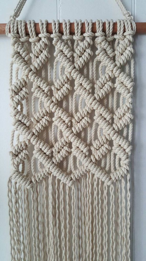 Macrame wall hanging by KnotOver on Etsy