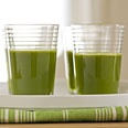 Joint Relief Juice  green juice made with pineapple, parsley, pears, grapefruit, and spinach