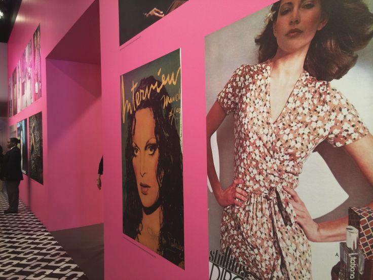 #DVF #JourneyofaDress exhibit at LACMA