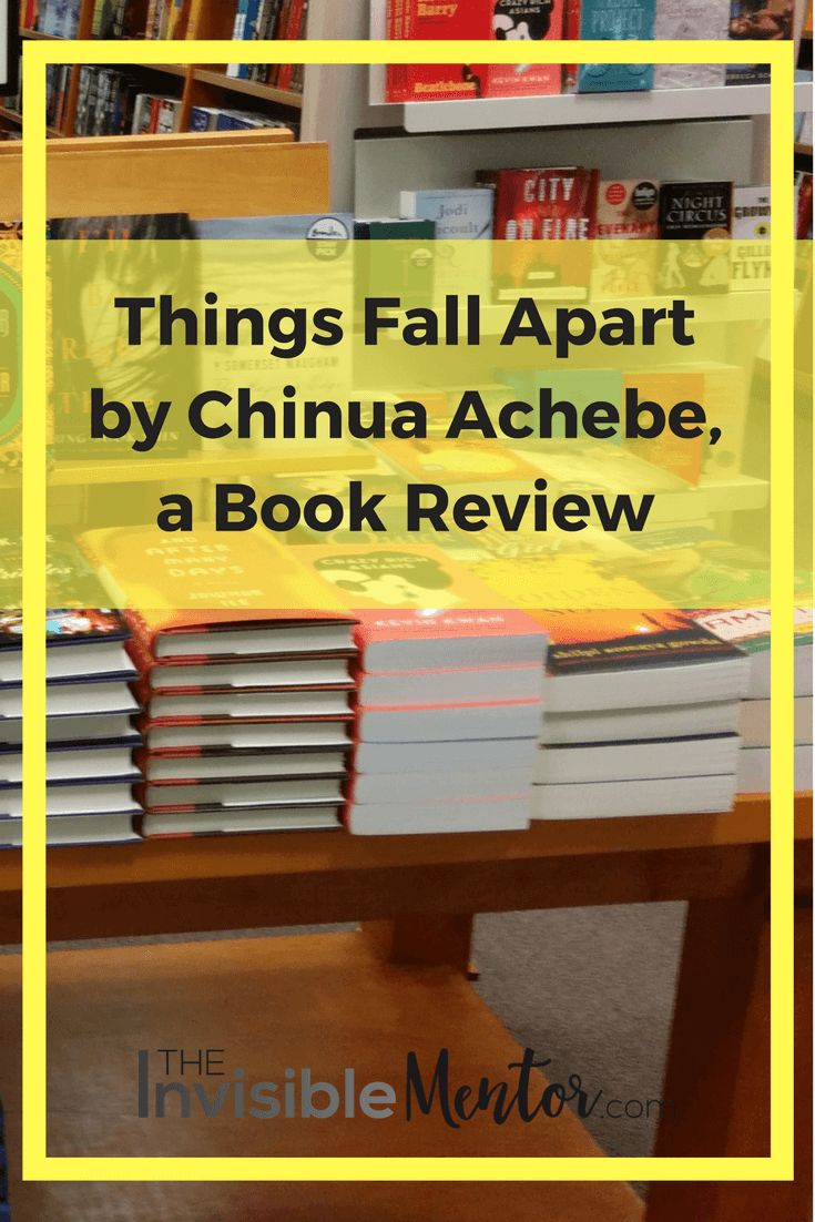 This is a summary and review of Things Fall Apart by Chinua Achebe. If you are interested in learning about colonization and the clashing of cultures, Things Fall Apart is a great place to start. The book is difficult to read because of the subject matter, but it is worth the read. Click through to read my article, Things Fall Apart by Chinua Achebe, a Book Review.