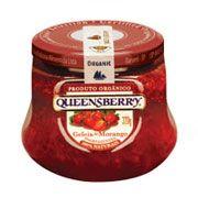 Geleia Queensberry Orgânica sabor Morango.