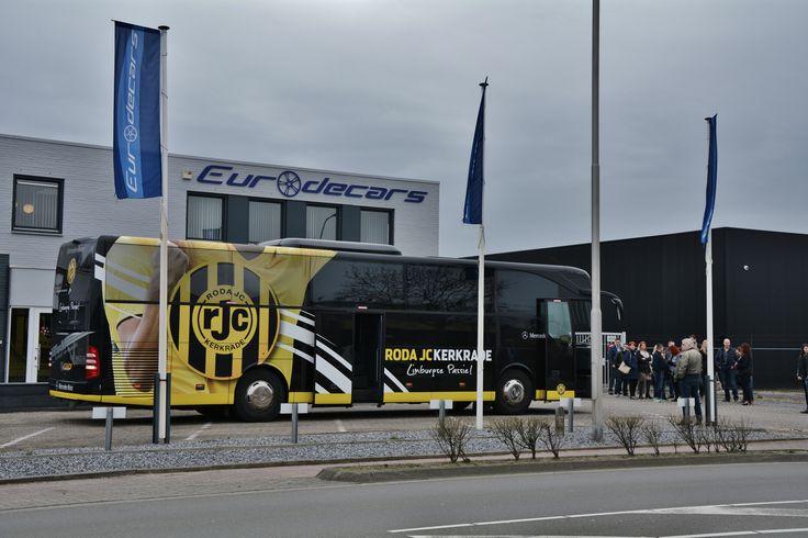 Roda JC bus bij Eurodecars