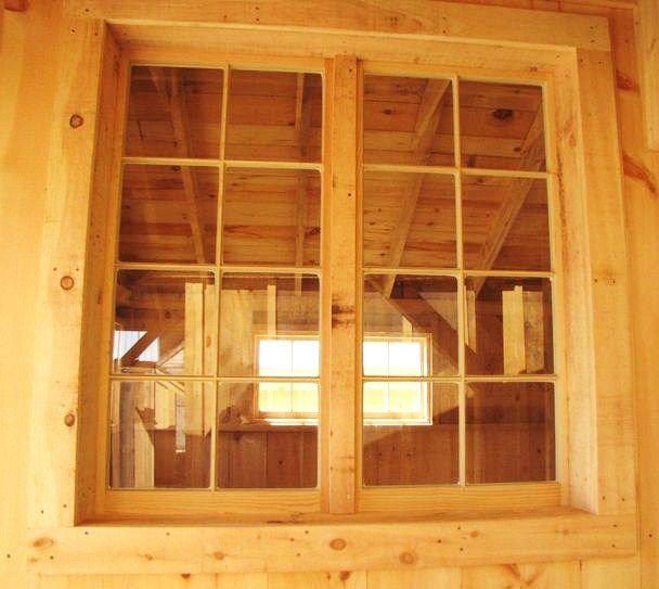 8 True Divided Light Window 2 X 4 X 8 Barn Sash Window
