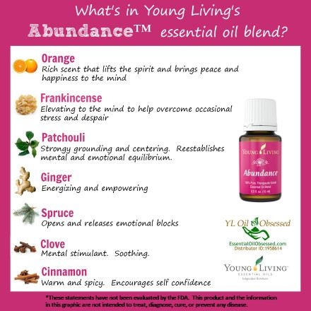 Young Living Essential Oils: Abundance