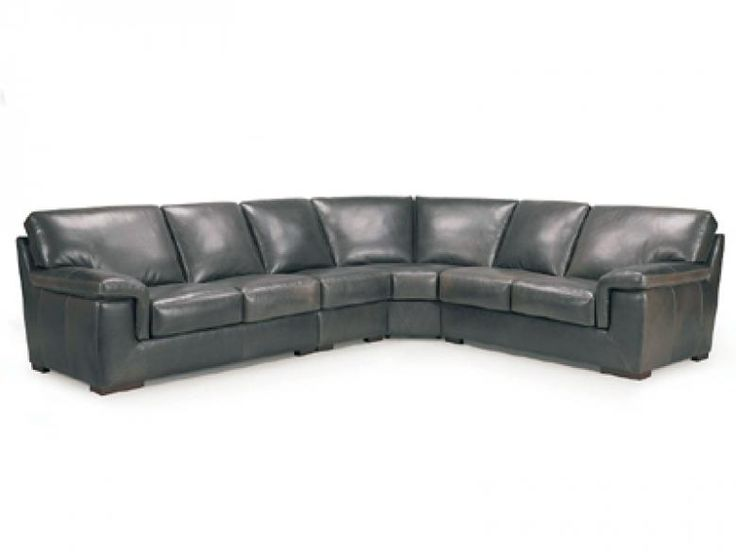 Lombardi Leather Sectional : Leather Furniture Expo