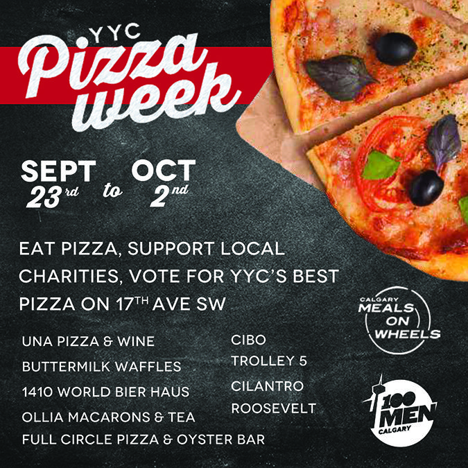 YYC Pizza Week: The Triple Threat