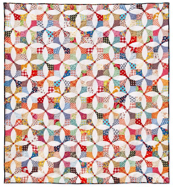 nifty quilts: Flowering Snowball is Quilted!