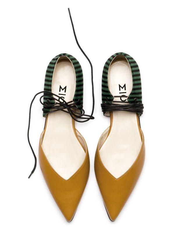 Sigue el camino de Irene Magro y Ana Cardona. Bailarinas bicolor y salones fusionados se reinventan con cordones colocados de forma innovadora.