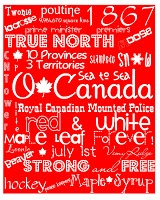 A Mama's Two Cents Worth... While They Are Napping: Canada Day eh?! Printables