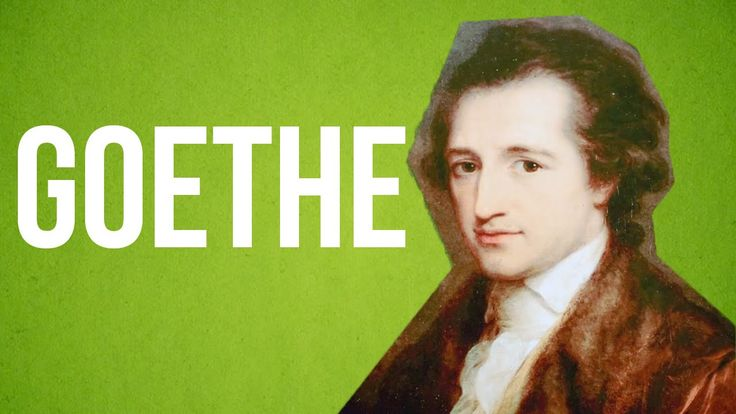 LITERATURE - Goethe - YouTube