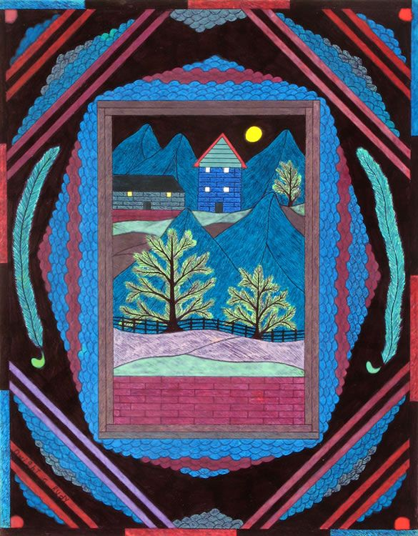 Dwight Ruby : Henry Boxer Gallery - Outsider Artist