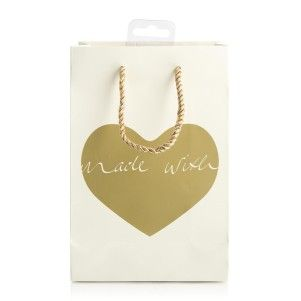 Foil Heart Small Gift Bag   Woolworths.co.za
