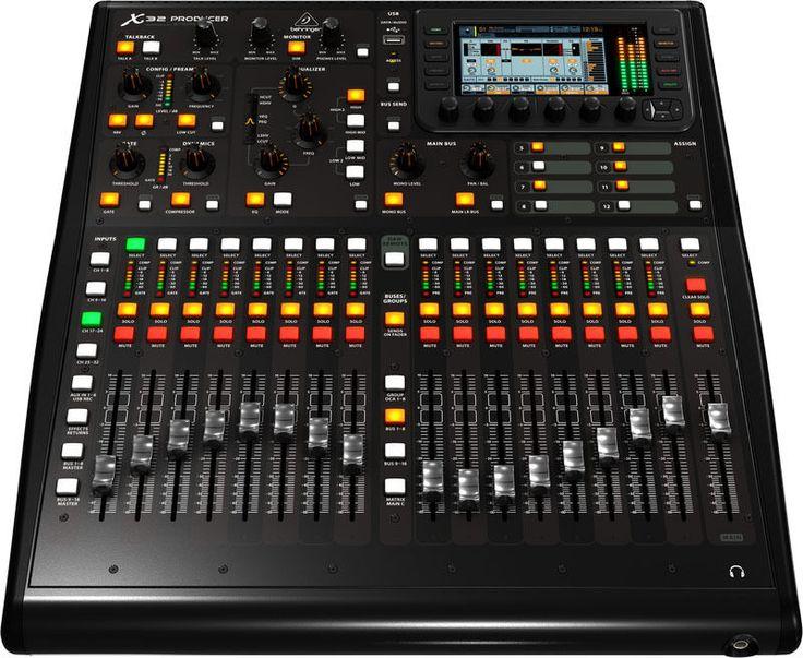 BEHRINGER MESA DIGITAL X32 PRODUCER