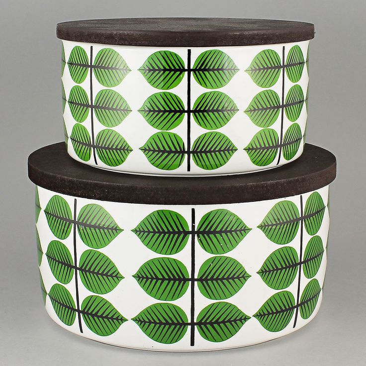 Stig Lindberg (Bersa 1961) Iconic Bowls with Lid