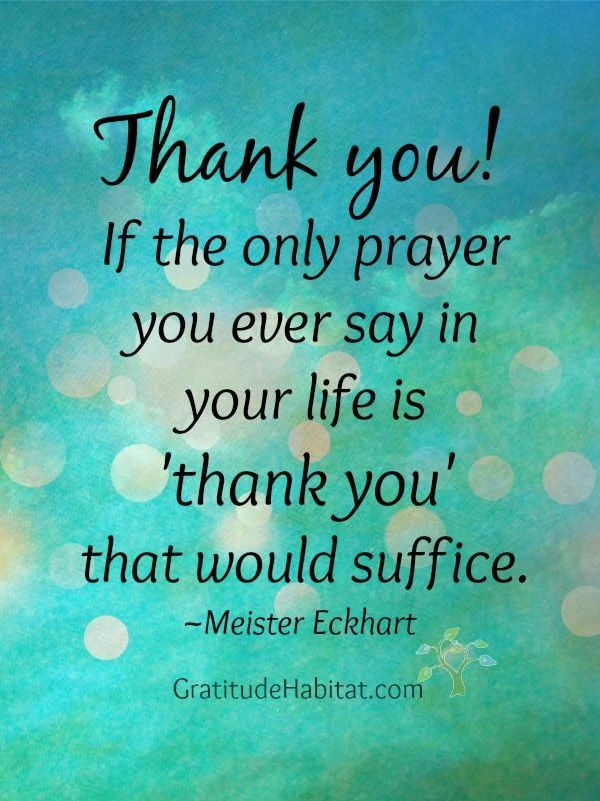 """If Ever You Need A Reason To Get Out Of A Broken Down Car: """"Thank You! If The Only Prayer You Ever Say In Your Life"""