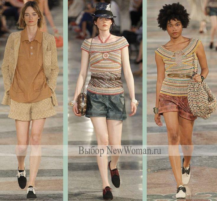 Модные шорты лето 2017 от Шанель - коллекция Курорт 2017