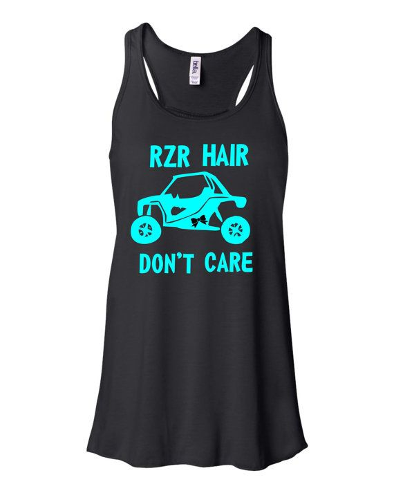 Rzr Hair Don't Care Tank by SouthernTLC on Etsy