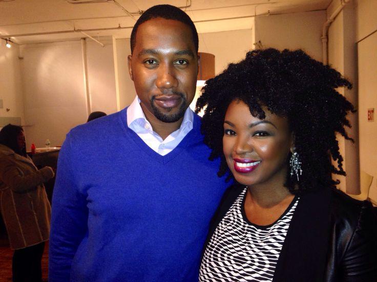 Beauty Expert, Melissa Hibbert with Ndaba Mandela.