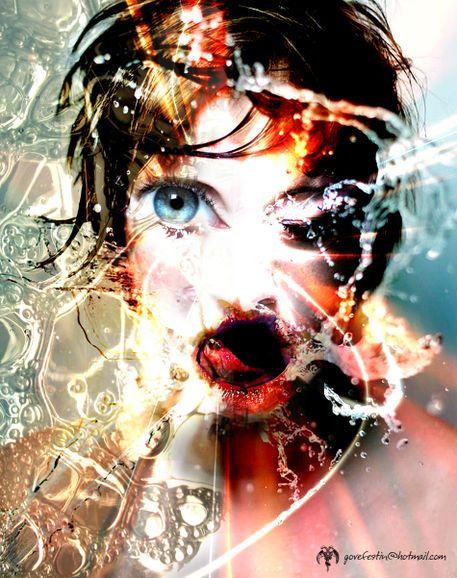 'GROTESQUE 09' by Marcelo  Espinoza on artflakes.com