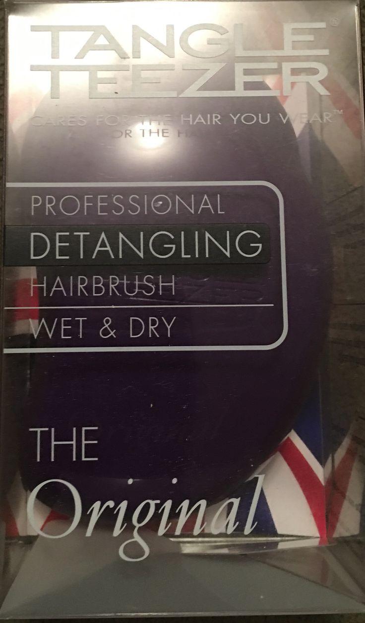 #tangleteezer #detanglinghairbrush #wetbrush #drybrush #theorginaltangleteezer