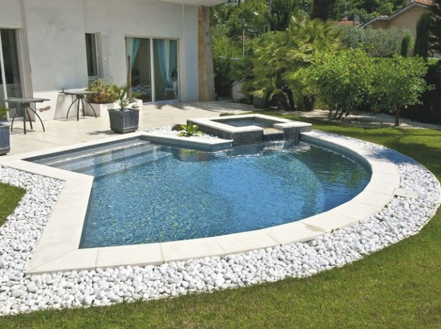 204 best images about jardin avec piscine on pinterest decks natural swimming pools and belle. Black Bedroom Furniture Sets. Home Design Ideas