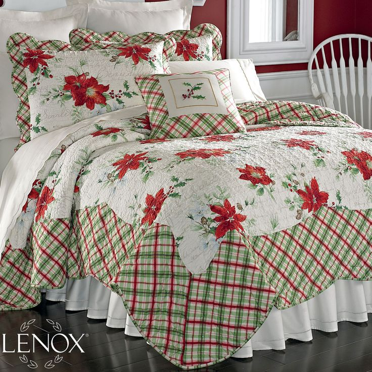 Winter Wishes Quilt by Lenox...would love to crawl into this bed
