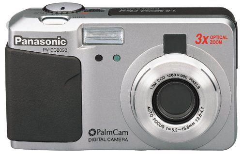 Panasonic PV-DC2090 1.3MP Digital Still Camera. Panasonic PV-DC2090 1.3MP Digital Still Camera.