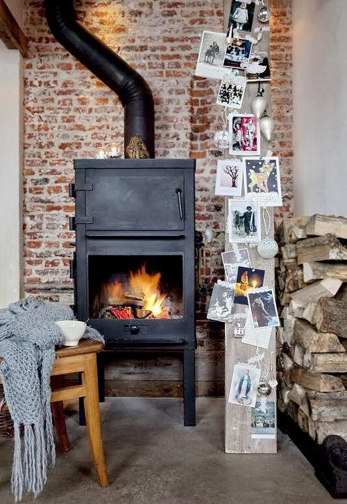 ♥ Veronica Van Veen's home, featured in The Simple Things magazine, Christmas 2012