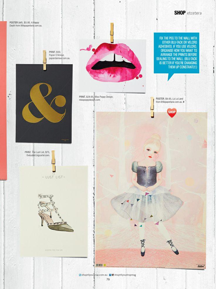 La La Land's Ballerina poster by Art & Ghosts in Shop til You Drop issue 1404!