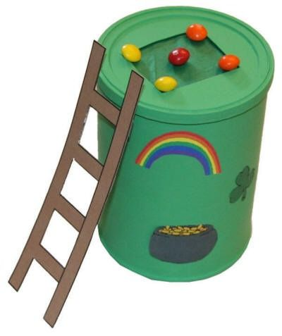 Leprechaun Trap...for those who have a leprechaun problem. #St.Patrick'sDay