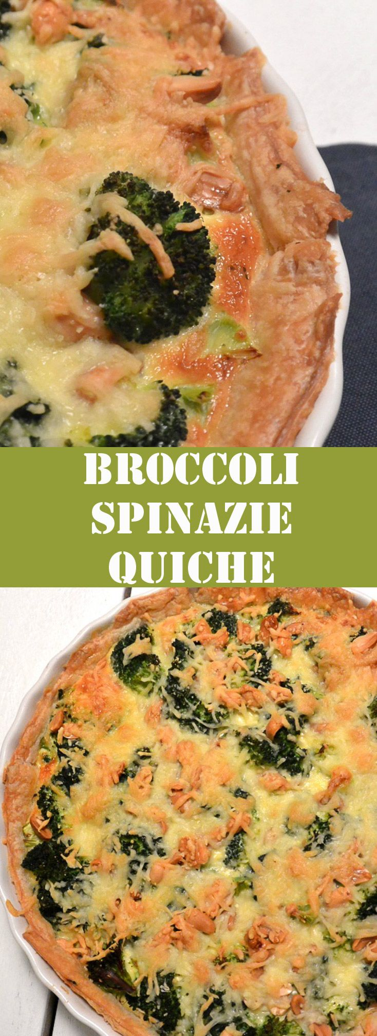 broccoli spinazie quiche