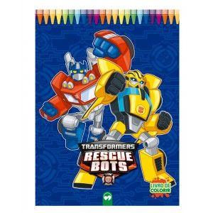 Livro Gigante - Transformers Rescue Bots