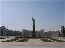 Piazza Ala Too Square, piazza principale di Biskek - Kirghizistan