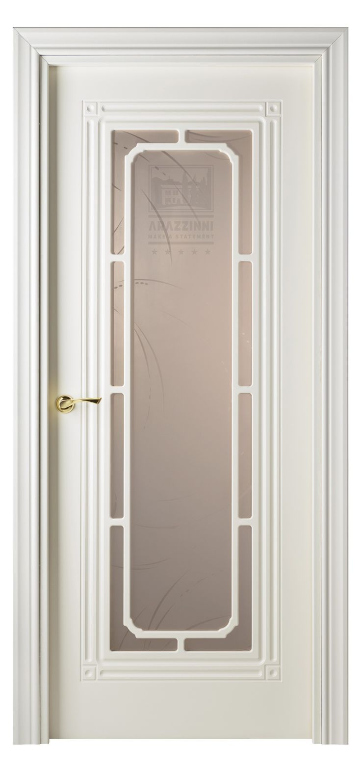 Cabla Vetro Interior Door White Ash 10
