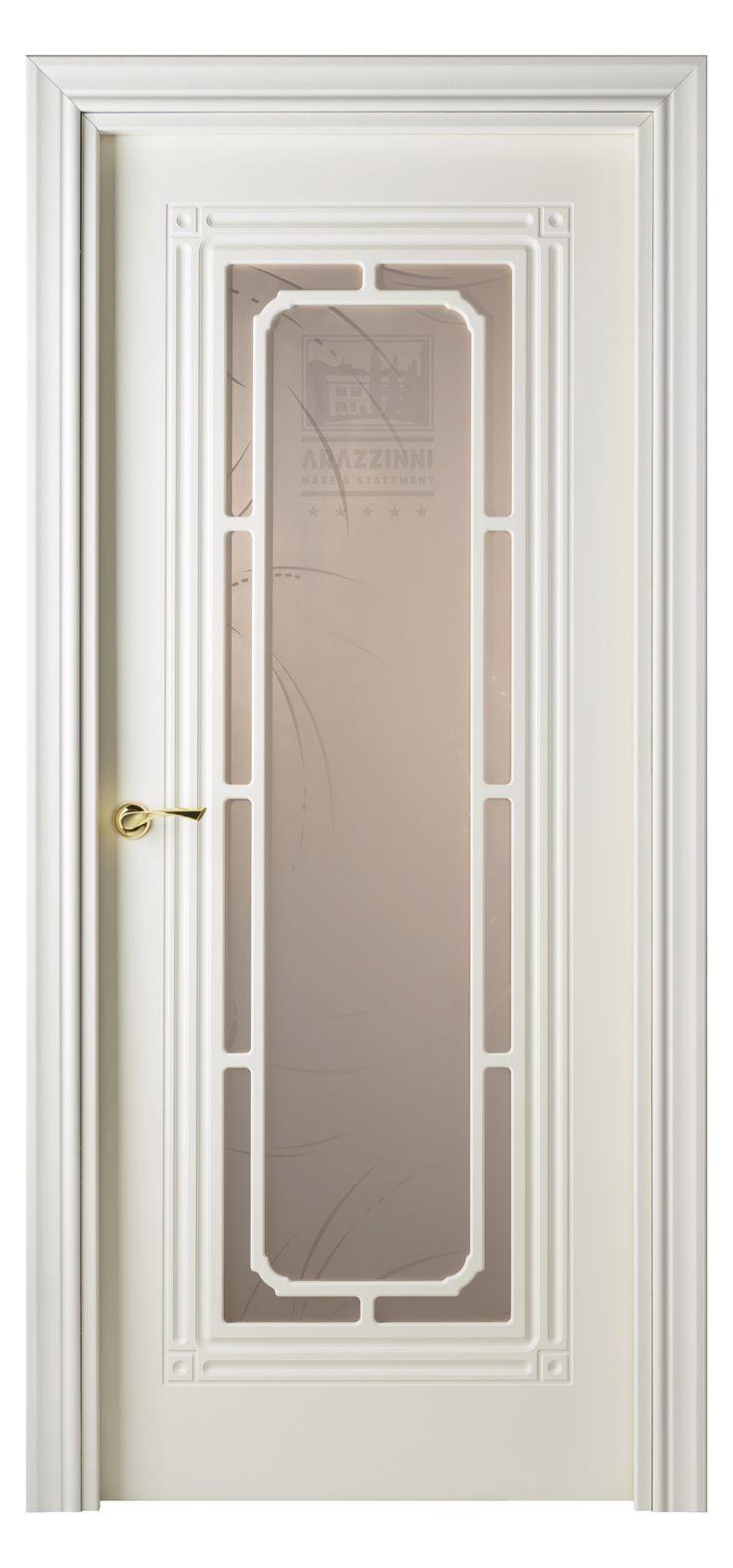 Cabla Vetro Interior Door White Ash
