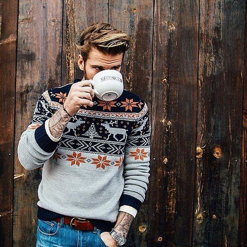"""I have to find some sweaters like this! The """"nordic style"""" (I don't know how to call it) is so cool!"""