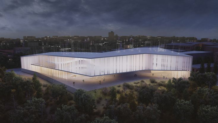 Museum of Tolerance in Jerusalem / Chyutin Architects,Courtesy of Chyutin Architects