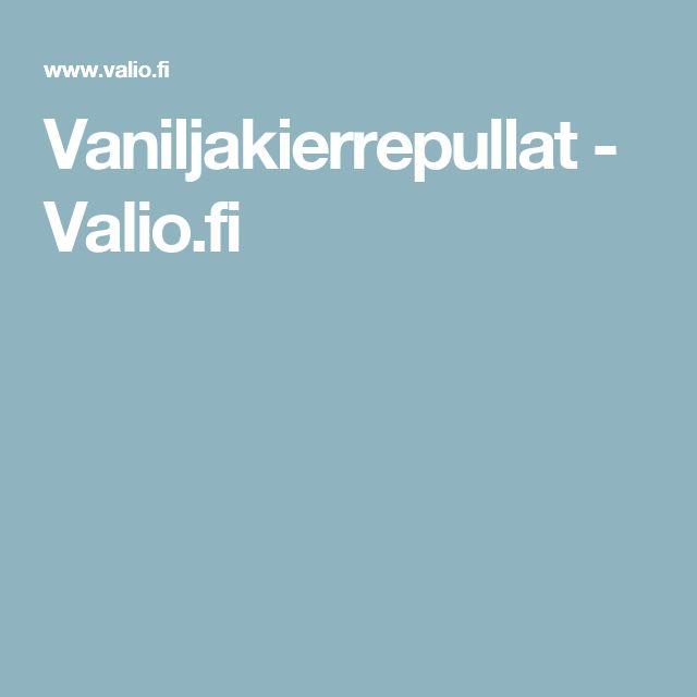 Vaniljakierrepullat - Valio.fi