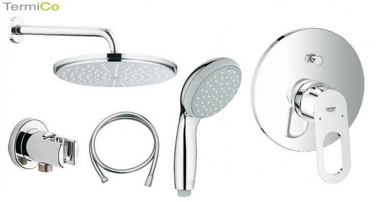 Grohe Bauloop kompletny prysznicowy zestaw podtynkowy Nr,katalogowy: GR/BAULOOP/210