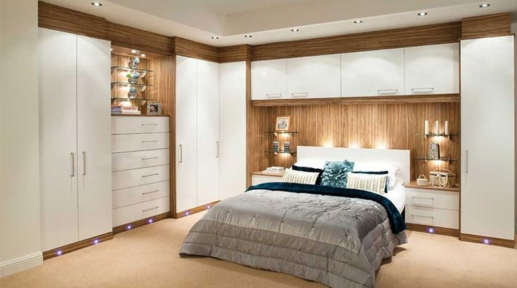 Adrianna White Fitted Bedroom