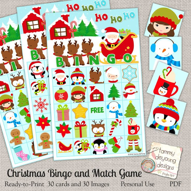 Top 10 Christmas Party Games: 17 Best Ideas About Christmas Bingo Game On Pinterest