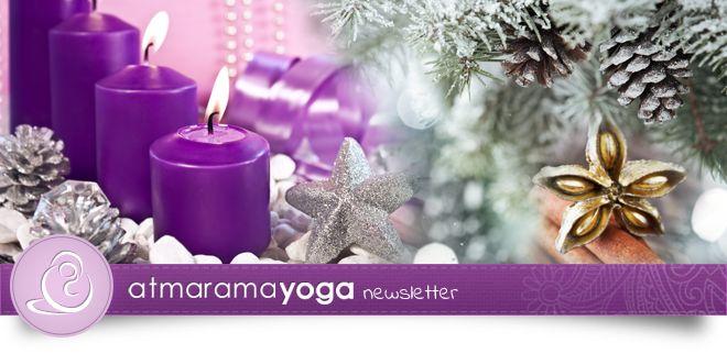 atmarama yoga Newsletter (12/2014)