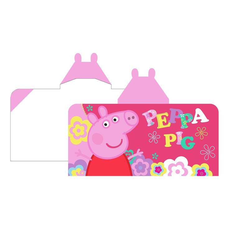 FRANCO MANUFACTURING CO Peppa Pig Kids Hooded Towel Wrap – Peppa's Playground, Multi