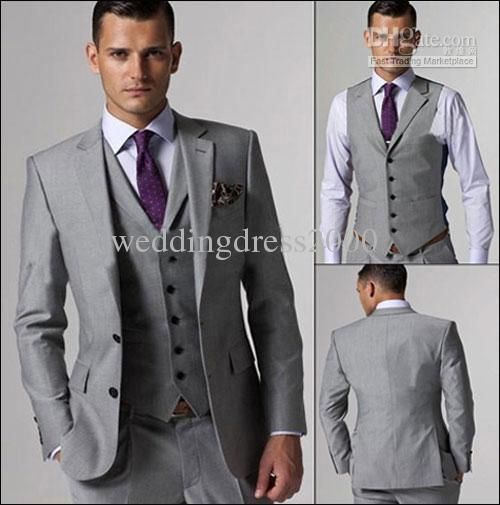 groom suit silver - Google Search