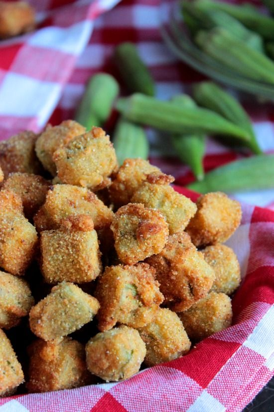 Southern Fried Okra --- If you're going to splurge on fried food, make sure it's worth it! Serve this Southern Fried Okra along side your favorite burger, brisket or fried chicken!